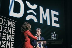 Soirée de lancement du DÔME - Anne Ruwet Jean-Jacques Cloquet
